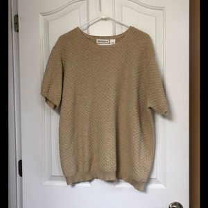 Like new short sleeve sweater Alford Dunner 2X